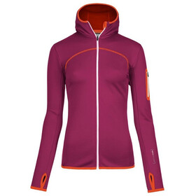 Ortovox W's Fleece Hoody dark very berry